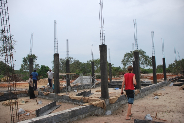 the first columns are casted 1